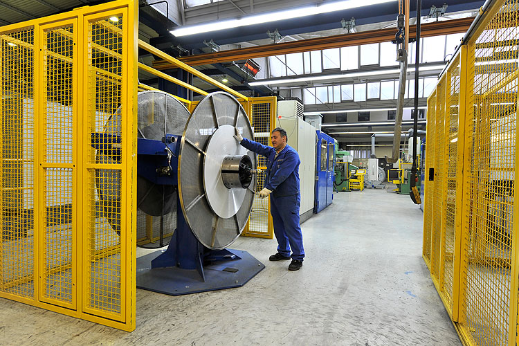 The Dresden production site is responsible for toolmaking